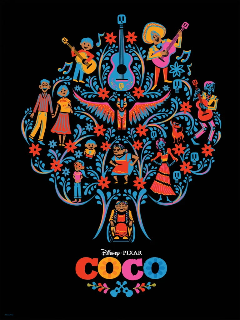 Coco Day of the Dead Poster Image