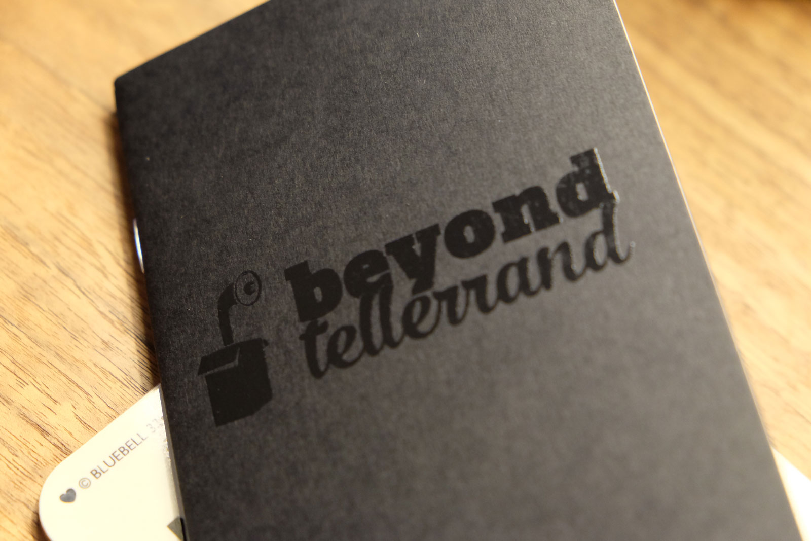 Custom Pocket Notebooks Black Foil Cover