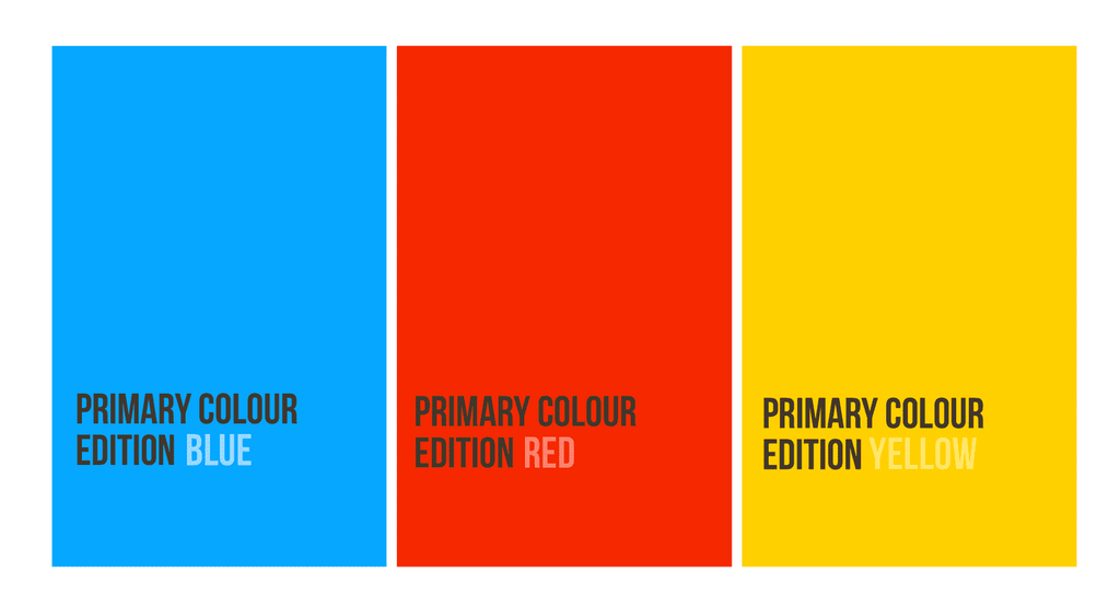Pocket Notebooks - Primary Colour Embosses Edition