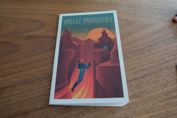 Back Pocket Notebooks - Space X - Valles Marineris