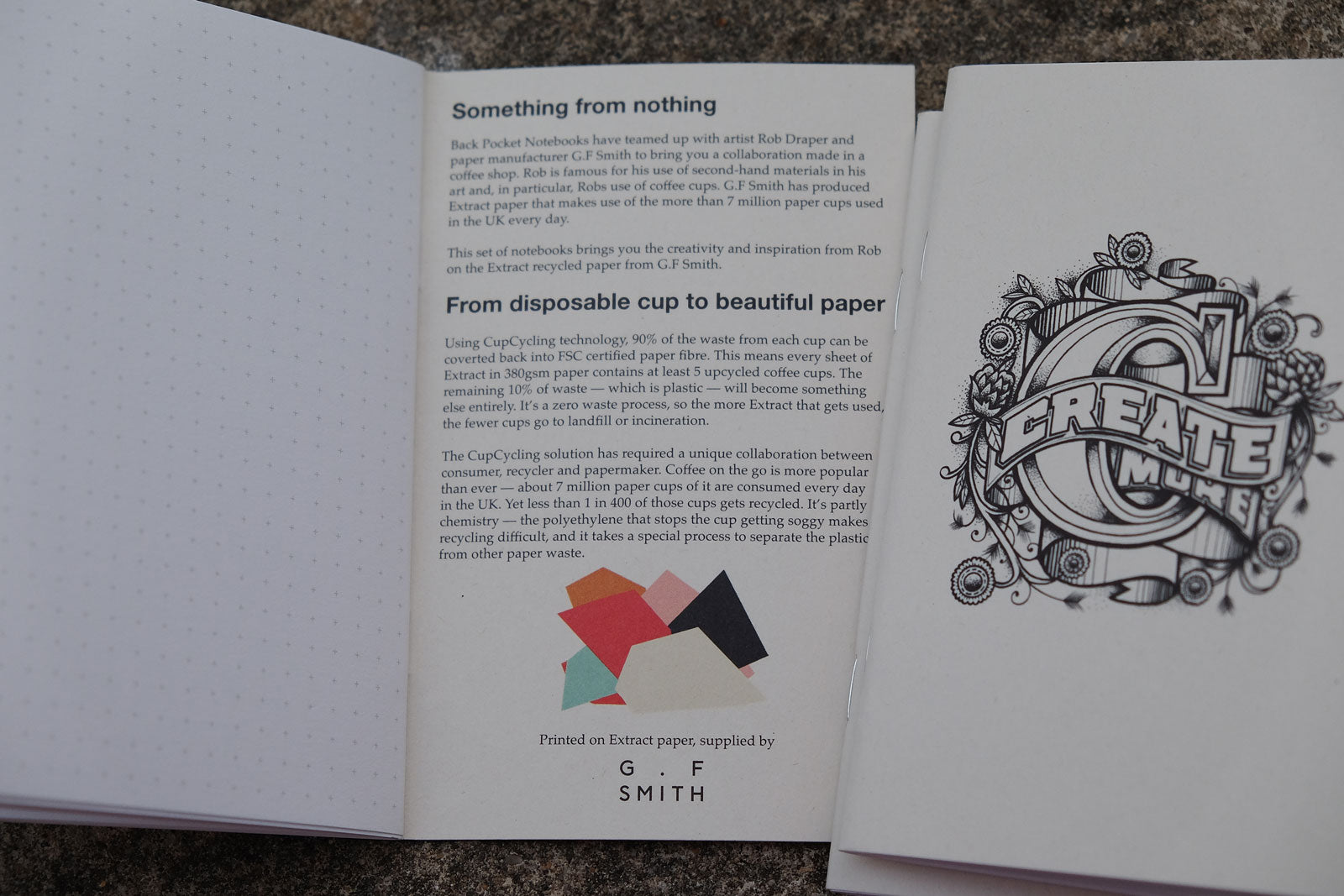 Coffee Cup Notebooks featuring Rob Draper - Inner back cover