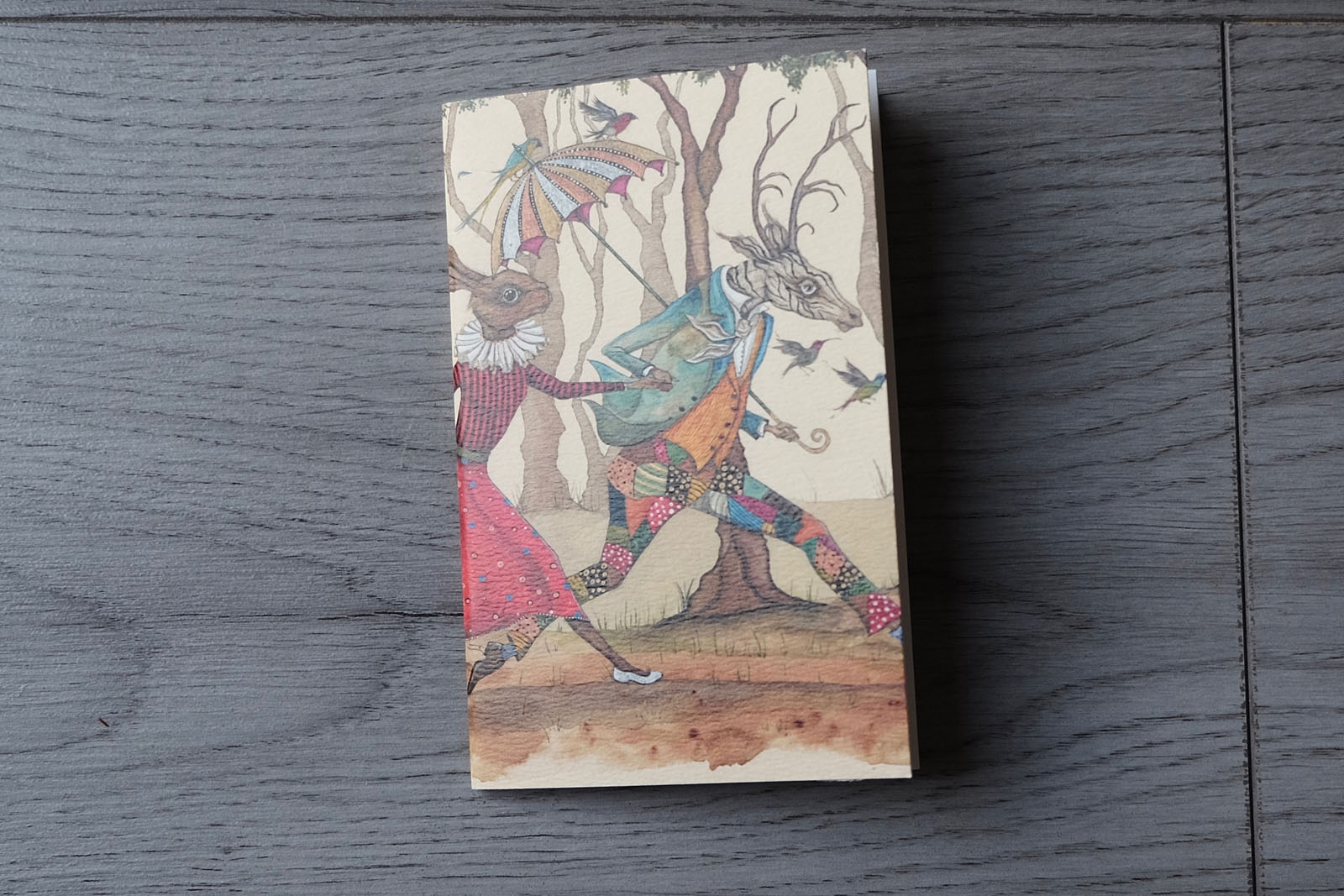 EC Woodard Illustrated Notebooks