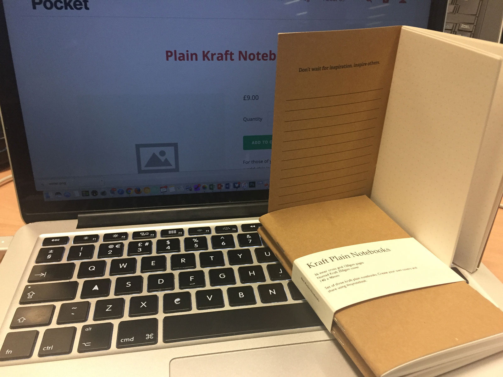 Plain Kraft Notebook