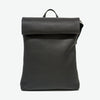 Minimalistic leather backpack
