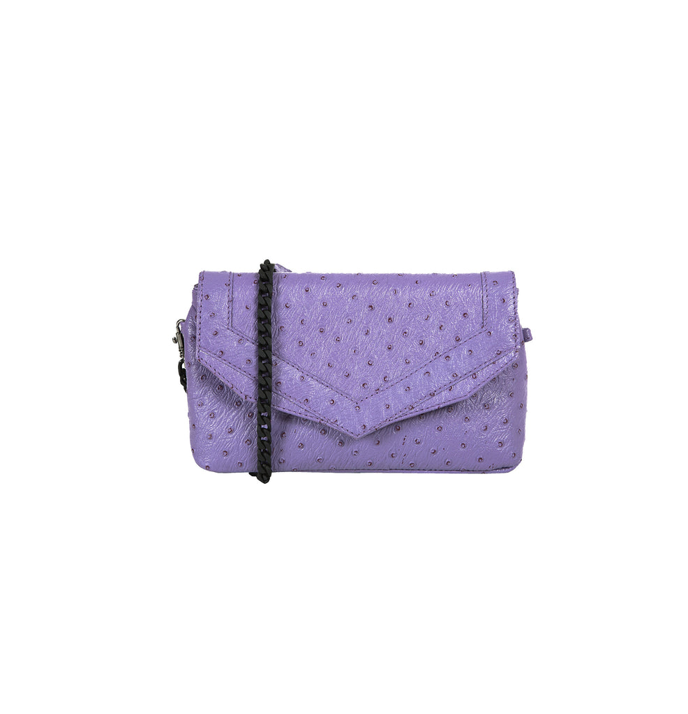 Small ladies purse with long strap