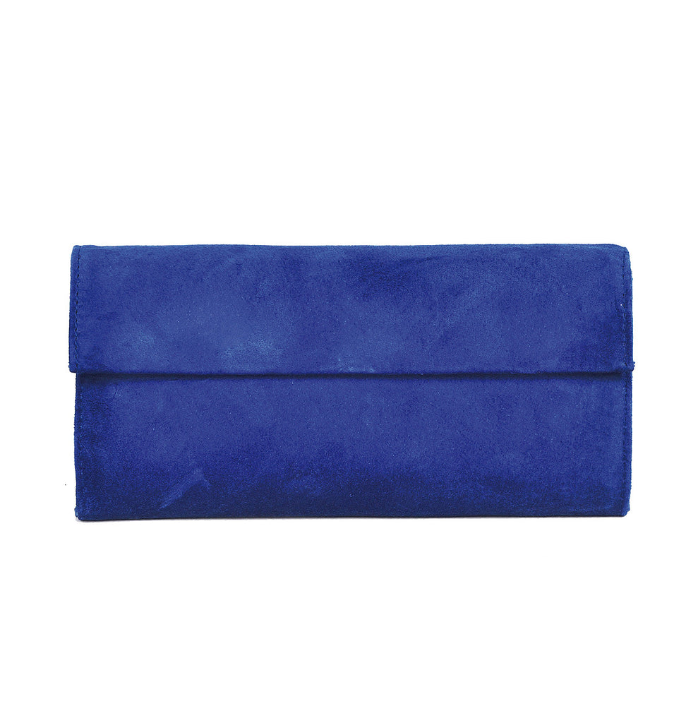 Classic style leather clutch