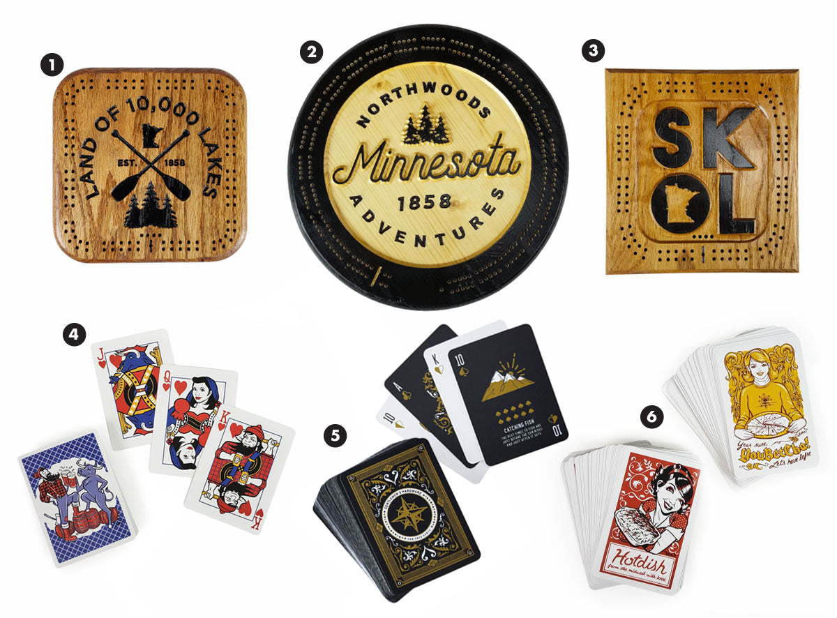 Fathers Day Gift Idea - Cribbage and Cards