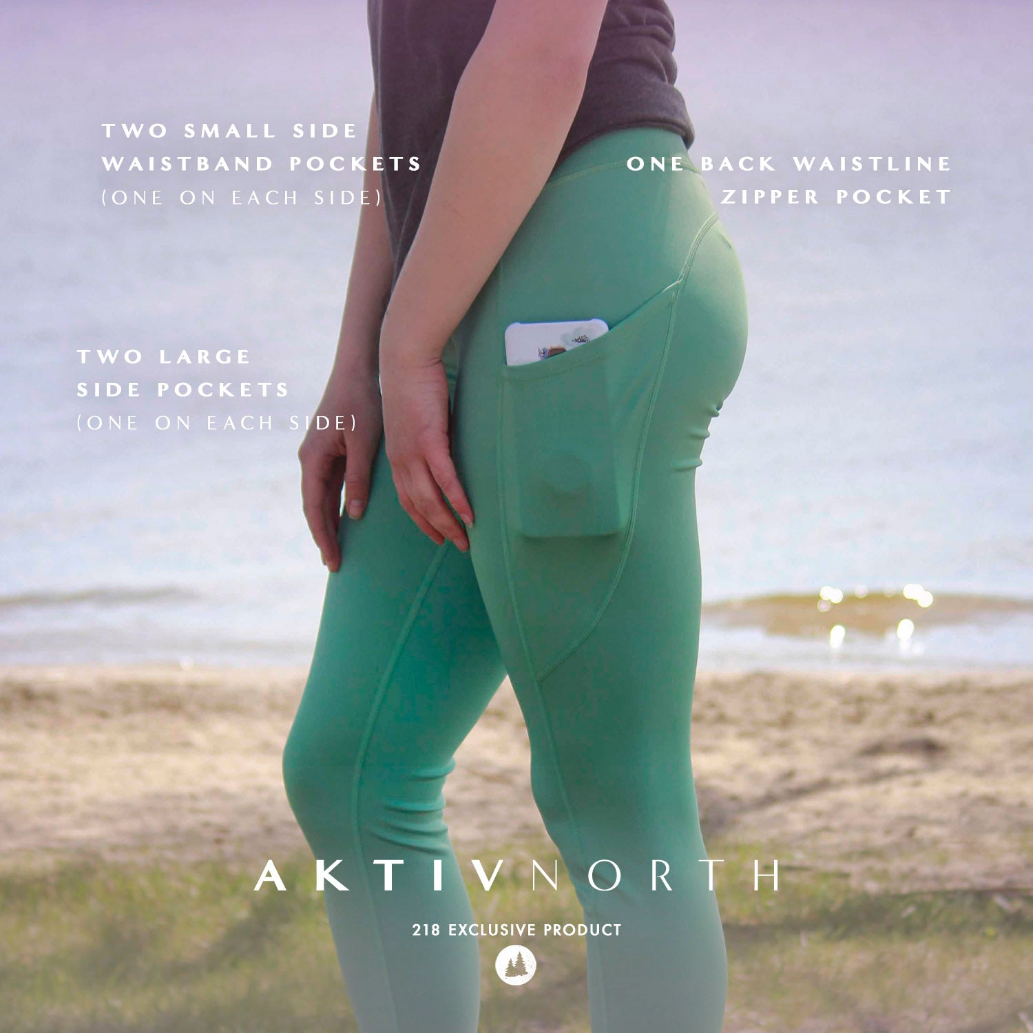 AKTIVNORTH five pocket leggings