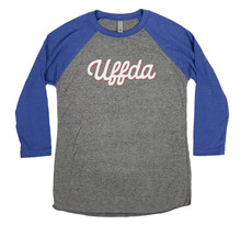 Load image into Gallery viewer, Minnesota Uffda Raglan Shirt