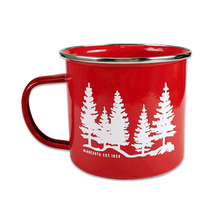 Load image into Gallery viewer, Red MN Horizon Mug