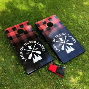 10K Lakes Cornhole Board Bundle Set