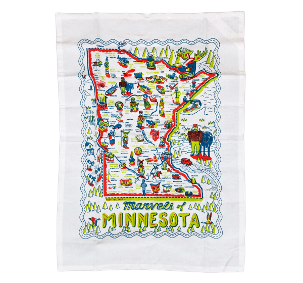 MN Marvels- Dish Towel
