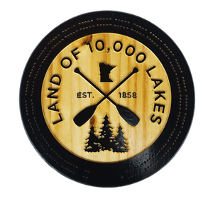 10k Lakes Wood Cribbage Board