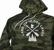 Load image into Gallery viewer, Men's Minnesota designed hoodie