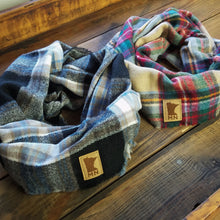 Load image into Gallery viewer, MN Patch Plaid Infinity Scarf - Multi-colored
