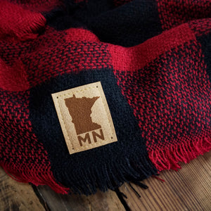 Buffalo Plaid- MN Patch Scarf