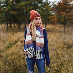 Maple Grove Patch Scarf