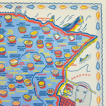 Load image into Gallery viewer, Minnesota Hot Dish by Region Poster