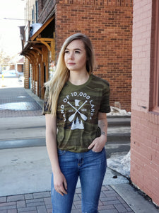 Camo Minnesota Graphic Tee
