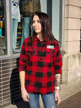 Load image into Gallery viewer, Northwoods Flannel Shirt - Women's