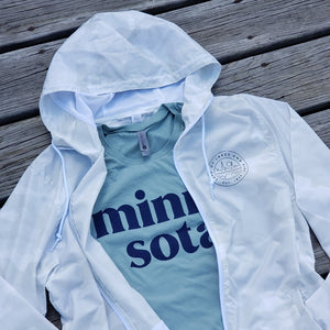 White Camo Minnesota Windbreaker
