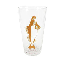 Load image into Gallery viewer, Walleye Pint Glass