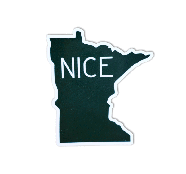Minnesota Nice Sticker