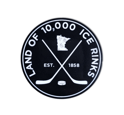 10K Rinks Vinyl Sticker