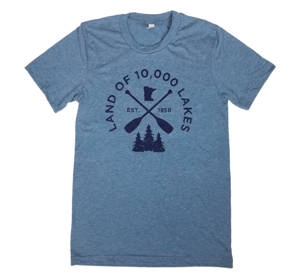 Open Waters 10K Lakes MN shirt