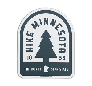 Hike Minnesota Sticker