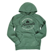 Load image into Gallery viewer, Minnesota Northwoods adventures sweatshirt