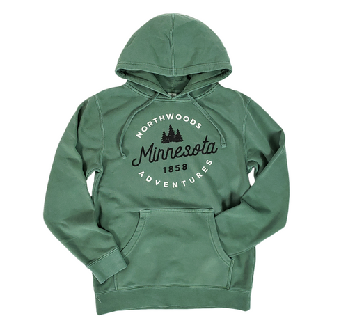 Minnesota Northwoods adventures sweatshirt