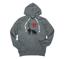 Load image into Gallery viewer, I Heart Paul + Babe Hoodie