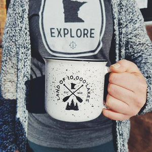 Minnesota Lakes coffee cup