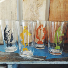 Load image into Gallery viewer, Assorted Fish Pint Glasses