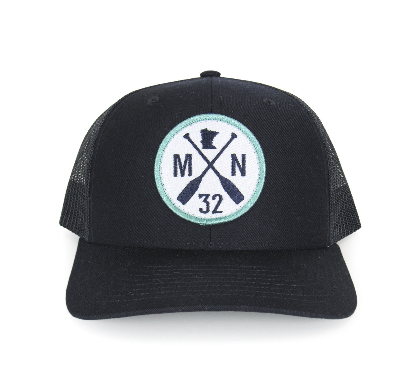 6ca98f59536 Navy + Teal MN Paddle Mesh Snapback - 218 Home + Gift