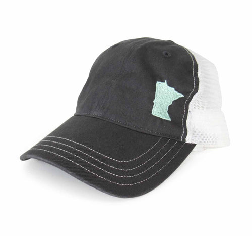 Women's Mint MN State Cap