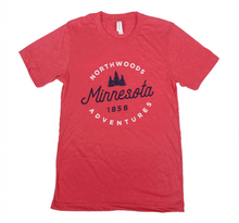 Load image into Gallery viewer, Minnesota Northwoods Adventures shirt