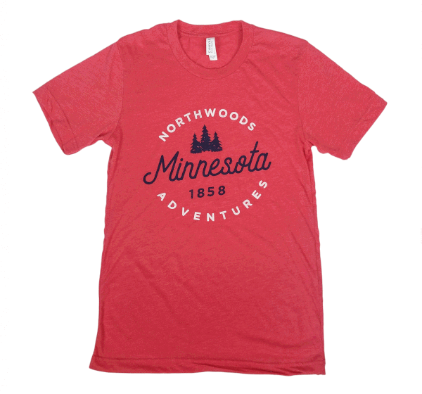 Minnesota Northwoods Adventures shirt