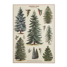 Load image into Gallery viewer, Vintage Look Christmas Tree Print, Large