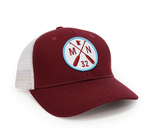 Minnesota Billed Hat RED, 218