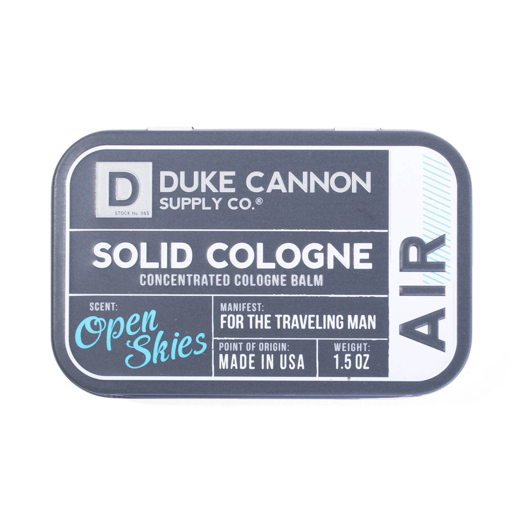 Solid Cologne - Open Skys Scent