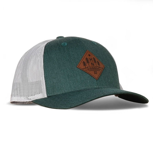 Evergreen Snapback Hat