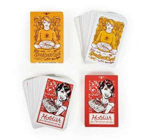 Hotdish Vintage-inspired playing cards