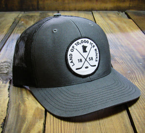 Mens hockey patch hat