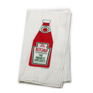 Midwest Hot Sauce Ketchup Towel