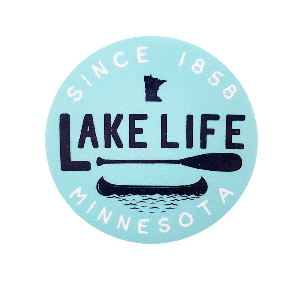 Lake Life Sticker
