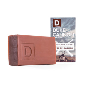 Leaf and Leather Soap Brick by Duke Cannon