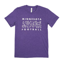Load image into Gallery viewer, MN Football Tee