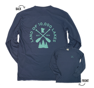 Minnesota Lakes Long Sleeve Shirt